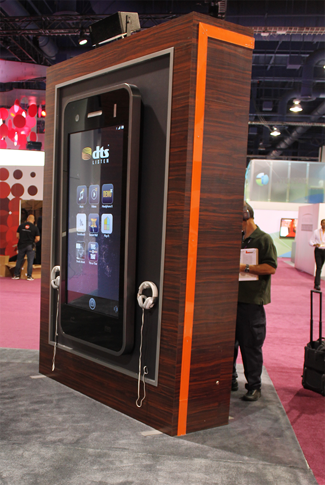 DTS Booth at 2014 NAB Show