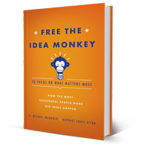 Free the Idea Monkey Book Jacket
