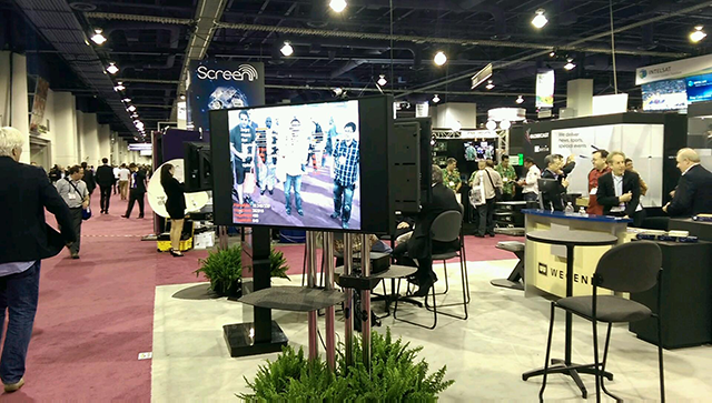 Wegener Booth at the 2014 NAB Show