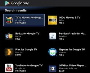 Google TV Apps