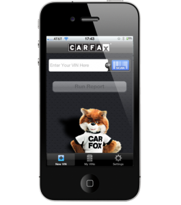 CARFAX for Dealers app