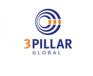 3Pillar Global Stacked Logo
