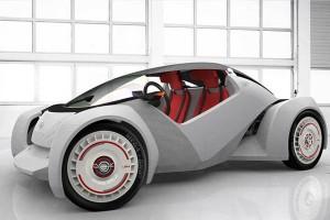 Strati 3D Printed Electric Car