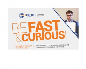 Be Fast and Curious Website Image