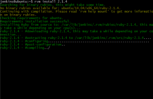 Install Ruby Message
