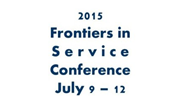 Frontiers in Service Logo