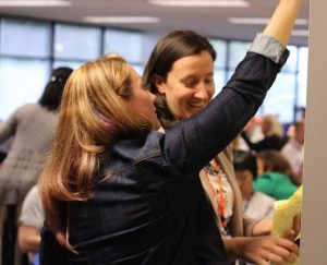 Lindsay Kloepping at 3Pillar Global's Product Mindset Workshop