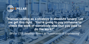 Automation is Engineering