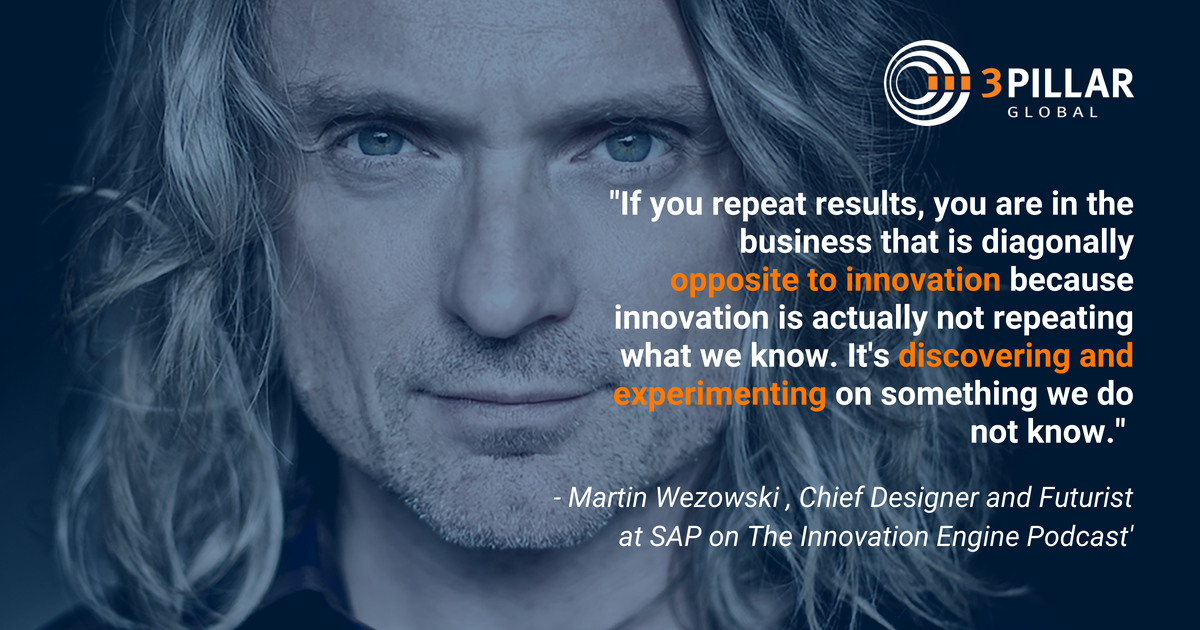 Designing the Future & the Future of Work - The Innovation Engine Podcast with Martin Wezowski