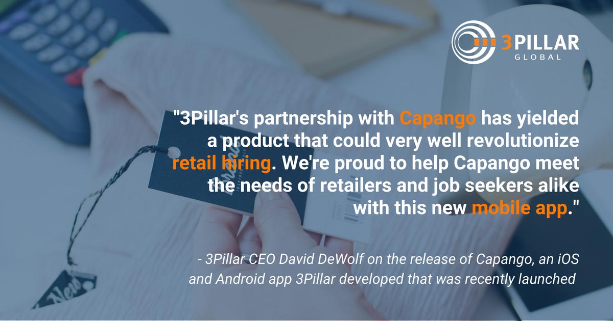 capango and 3pillar global partner to create