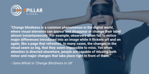 Change Blindness in UX Twitter
