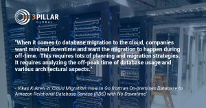Cloud Migration with No Down Time